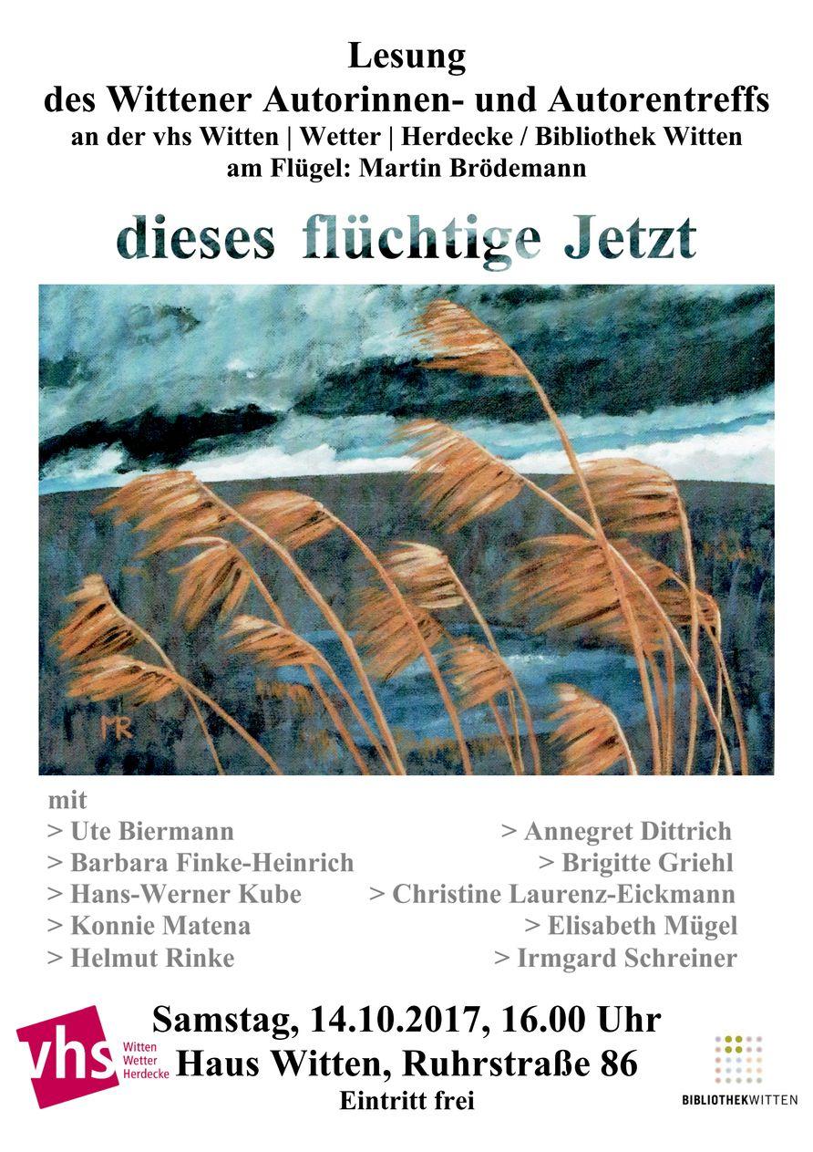 Wittener Autorentreff - Jahreslesung 2017