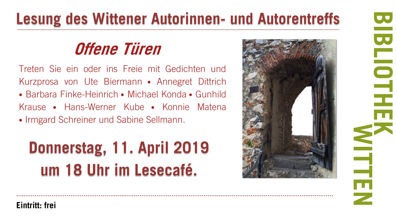 Lesung-im-Lesecafe-Witten am 11.04.2019